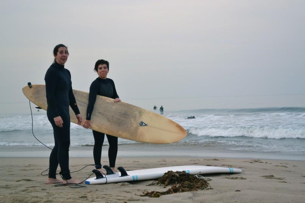 Santa Monica Surfing